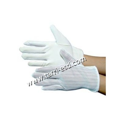 ESD strip PU palm fit glove