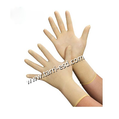 Cleanroom latex glove