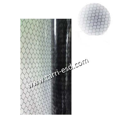 ESD grid vinyl curtain