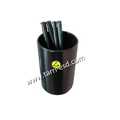 ESD brush pot