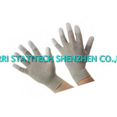 ESD copper PU top fit glove