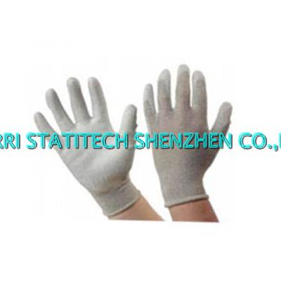 ESD copper PU palm fit glove